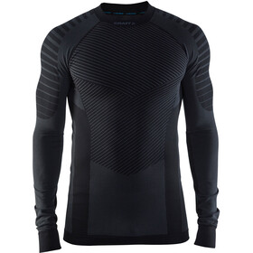 Craft M's Active Intensity CN LS Shirt Black/Granite